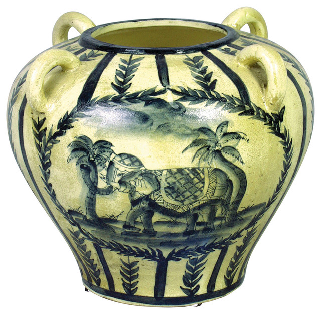 Elephant Vase Tropical Vases By Orchard Creek Designs