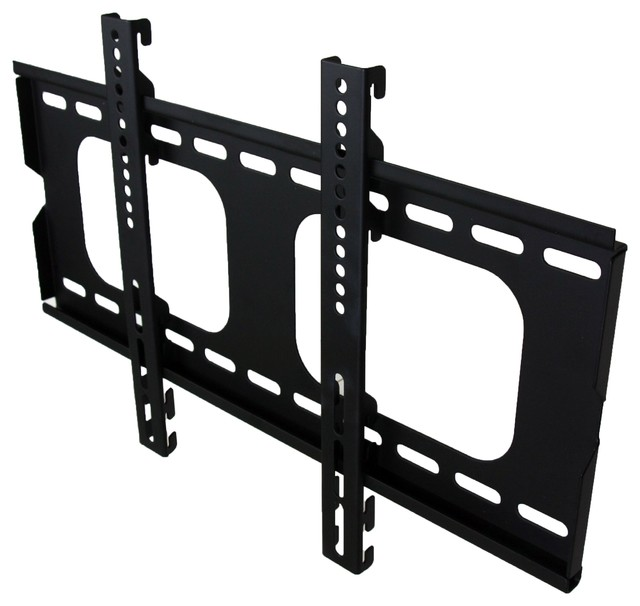Fixed Low Profile Locking Height Adjustable Tv Wall Mount 37 Screen Sizes Home