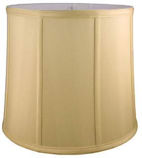 Clarkson Round Drum Faux Silk Lampshade Transitional