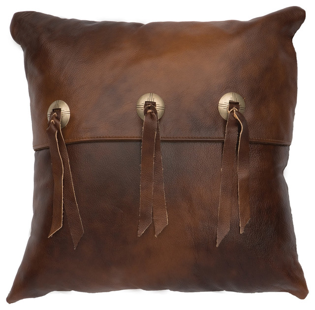 Painted Desert Pillow, 16x16 With Fabric Back.