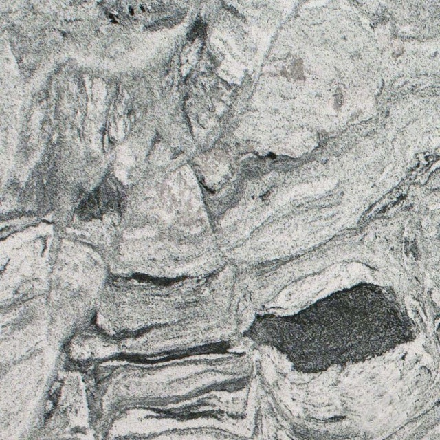 Various Sized Silver Cloud Countertop Granite Slab, 2 Cm..
