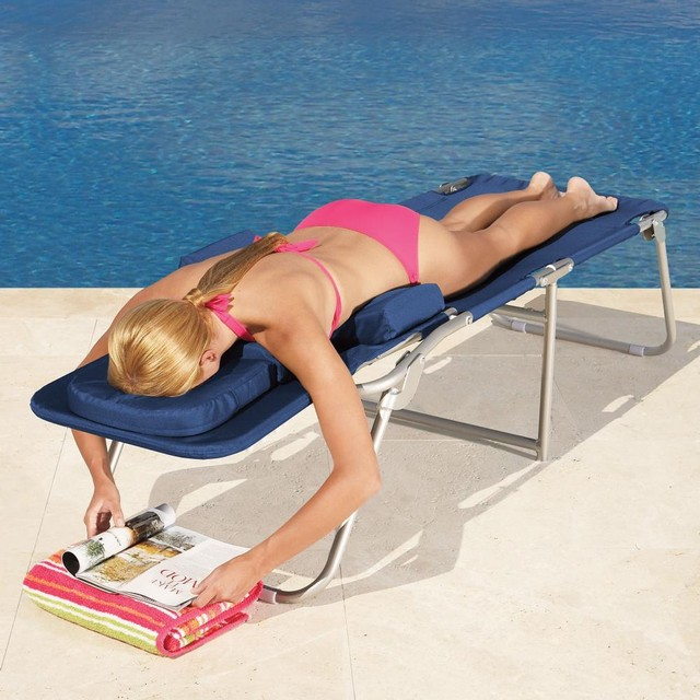 Ergonomic Face Down Lounge Chairs