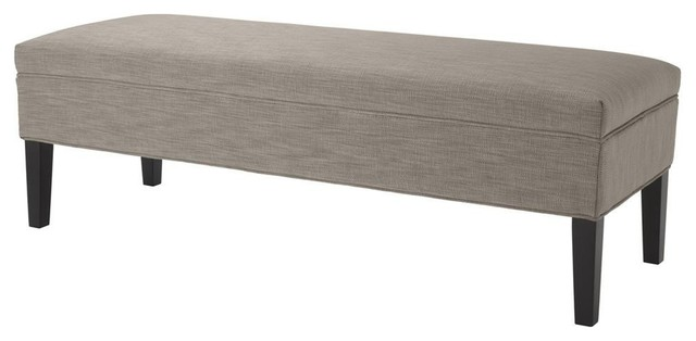 "Light Brown Bench, Eichholtz Skipper, Brown, 55""x20""x18""."