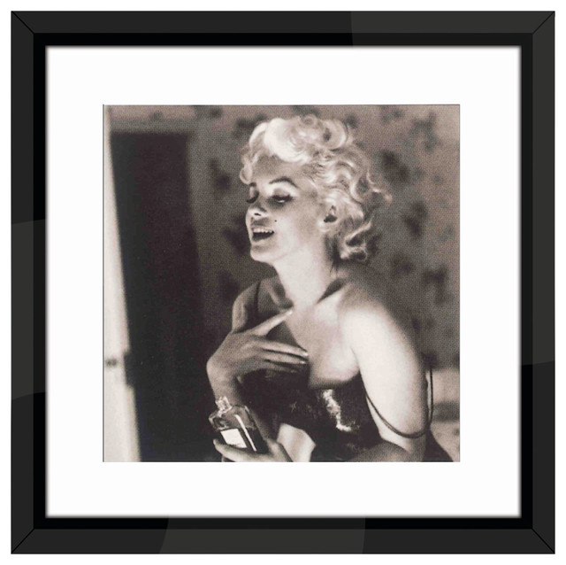 Marilyn Monroe James Dean Home Kitchen Design Ideas ~ Quot marilyn monroe chanel no photo print with black frame