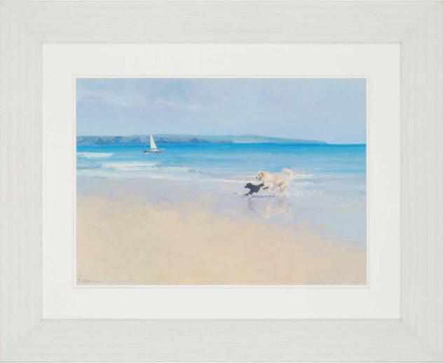 """Summer Sands Artwork, 41""""x33""""."""
