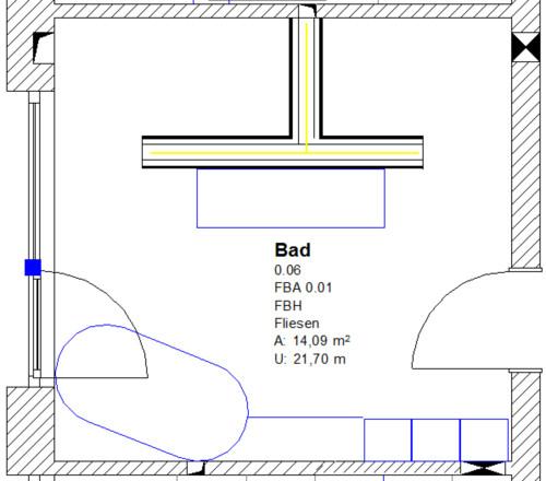 freistehende badewanne platzbedarf. Black Bedroom Furniture Sets. Home Design Ideas