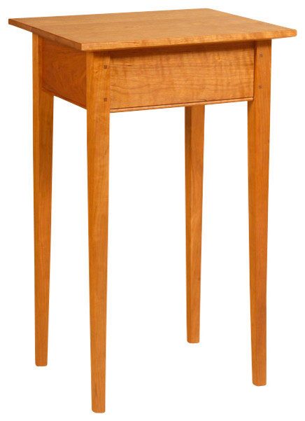 Shaker Style Side Table, Natural Cherry Traditional Side Tables And End