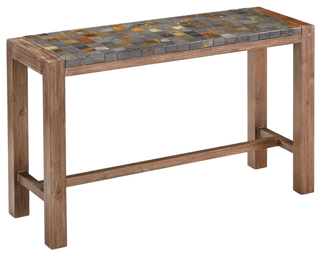 Morocco Console Table  Eclectic  Outdoor Side Tables  by Home Styles Furni -> Table Tv Maroc