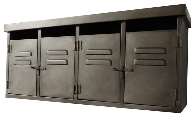 Industrial Metal Wall Storage