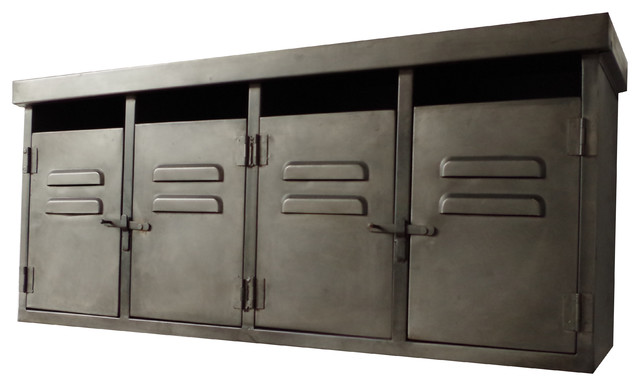 Industrial Metal Wall Storage Industrial Display And Wall Shelves