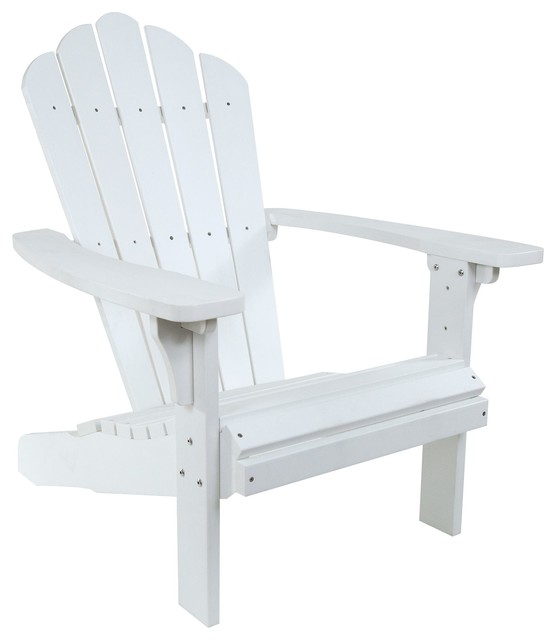 West Palm Adirondack Chair, White