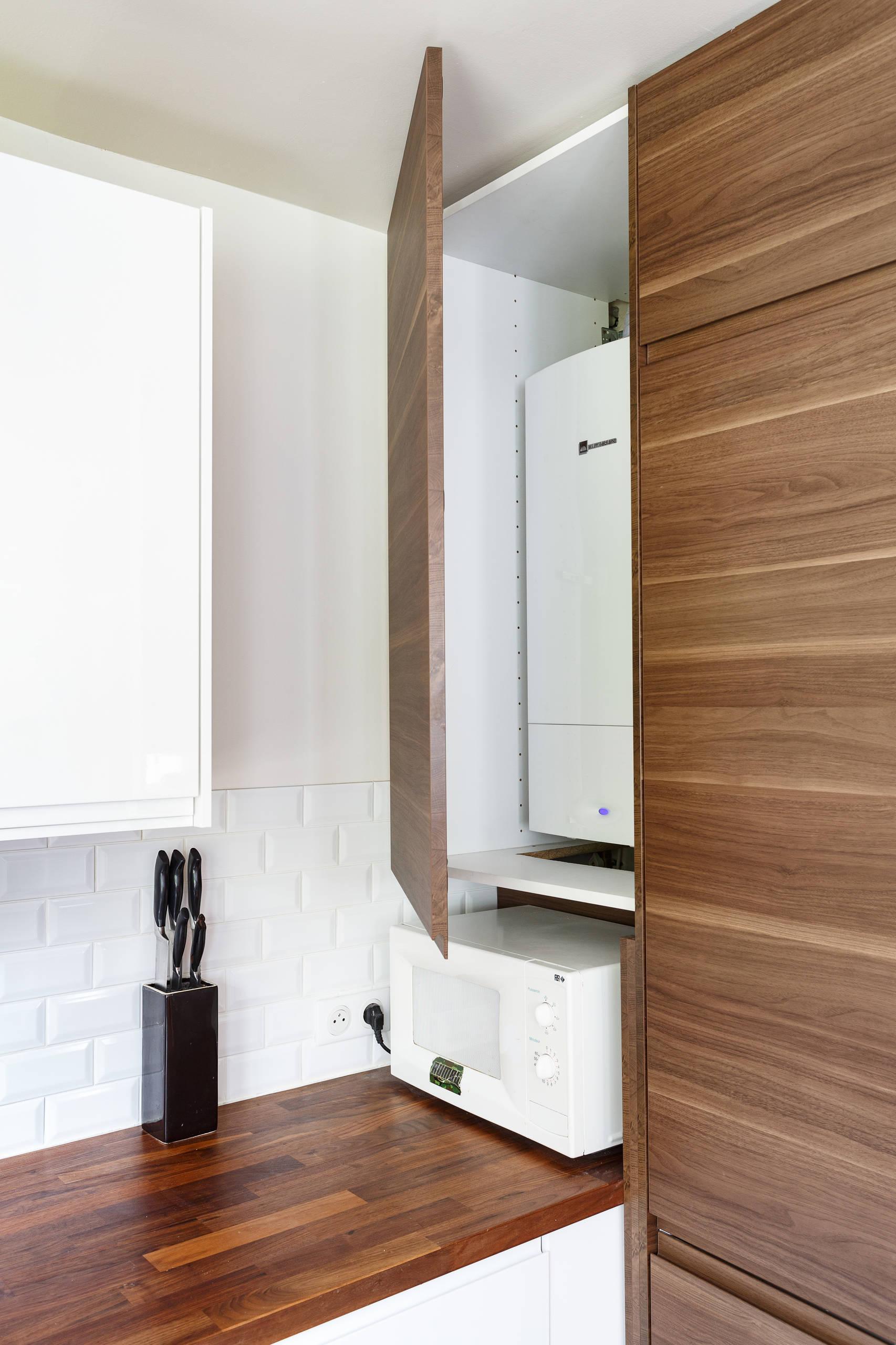 Avant/après Comment optimiser l'agencement d'une cuisine ouverte s  et l'entrée