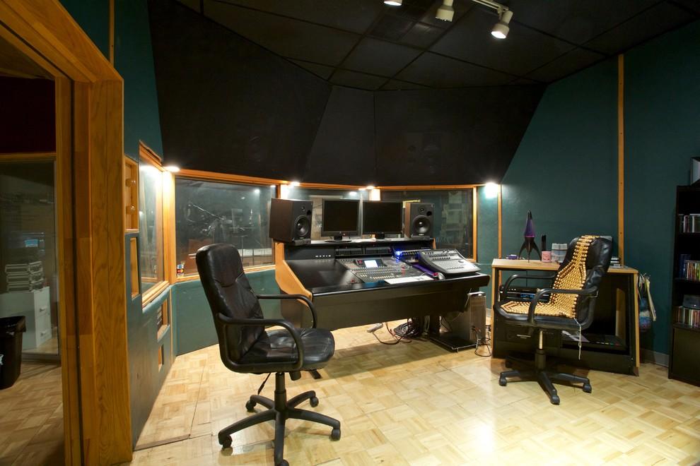 Control Room Acoustically Designed/Built