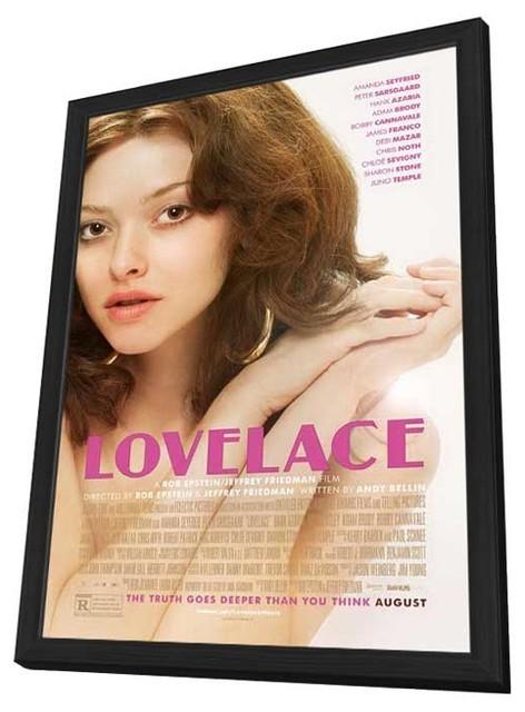 """""""Lovelace"""" 2013 Framed Movie Poster, 27""""x40 ..."""