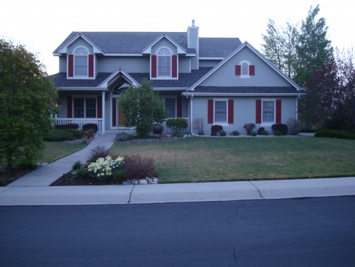 Help with exterior paint color for Light gray exterior paint