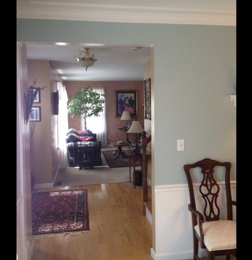 What Color Paint Pic Of Dining Room Foyer Formal Living Room