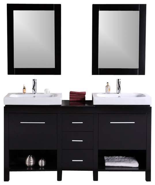 Double Sink Bathroom Vanities