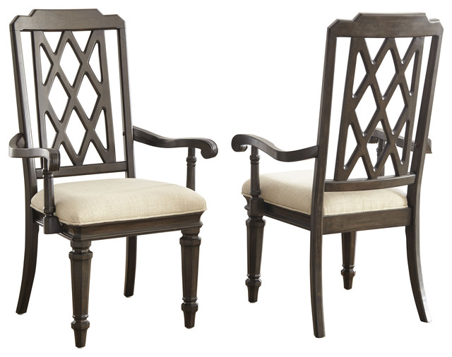 Steve Silver Vivaldi Arm Chair Set of 2 Armchairs And