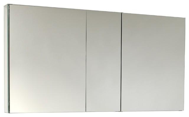 Wide Bathroom Medicine Cabinet With Mirrors - Contemporary ...