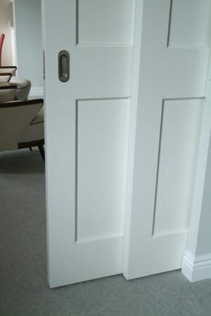 35 West 81st Double Pocket door