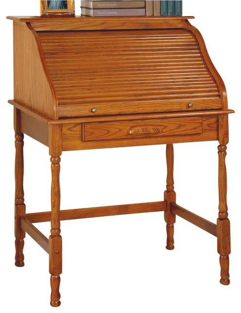 Coaster Palmetto Small Roll Top Secretary Desk Desks And