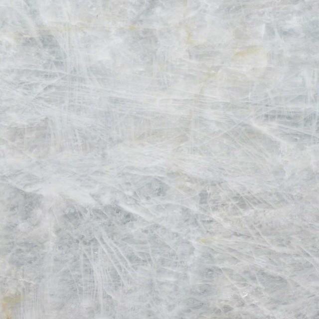 Crystal Ice Countertop Quartzite Slab, White, 3 Cm. Single Piece.