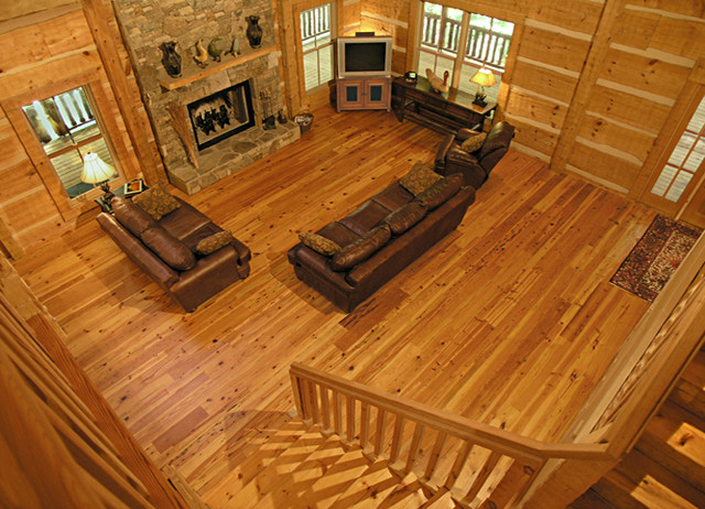 Southern Yellow Pine Flooring Style And Shades
