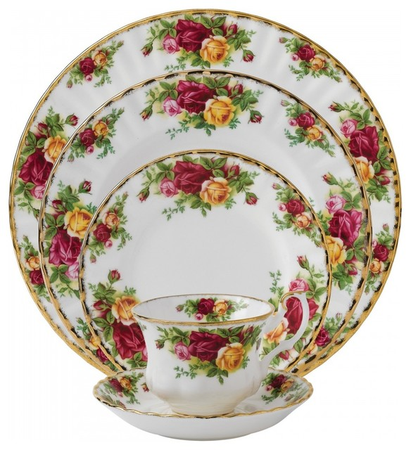 Royal Albert Old Country Roses 5 Piece