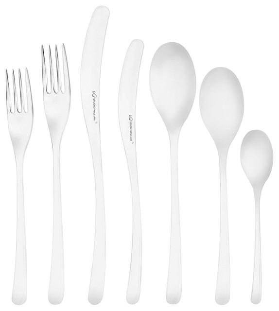 studio william welch arolla mirror cutlery set 24 piece 42 piece set