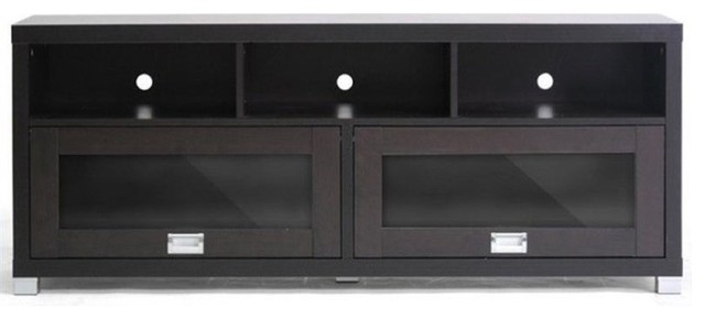 Pemberly Row 57 63 Tv Stand Dark Brown