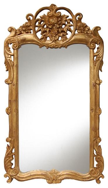 Flourishing Mirror, Gold Leaf.