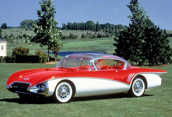 1956 Buick Centurion Concept Car Promotional Photo Poster