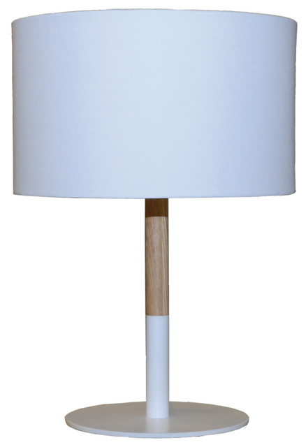 Haag Table Lamp, White