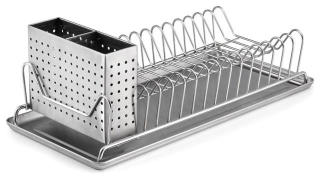 Compact Dish Rack.