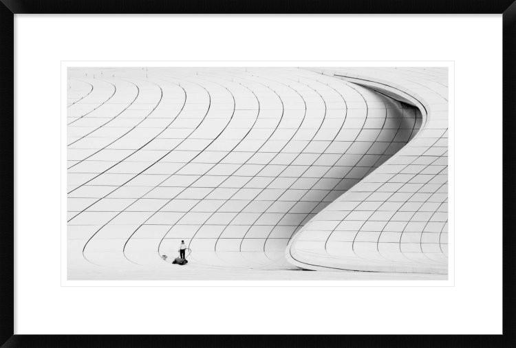 Cleaner Framed Digital Print By Richard Krchnak 30 X20 Photographs By Global Gallery