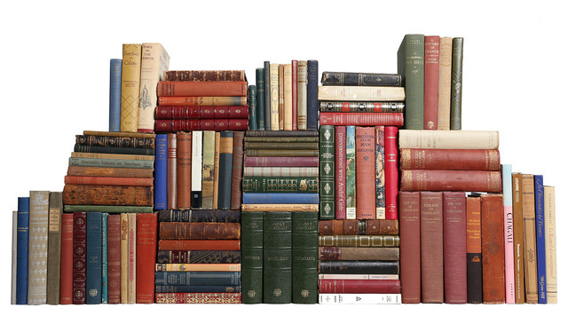 Decorative Books Curated French Library Set Of 100 Traditional Books By Booth Williams
