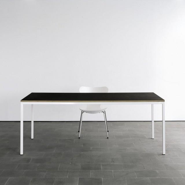 auszugtisch minimalistisch schreibtische aufs tze. Black Bedroom Furniture Sets. Home Design Ideas