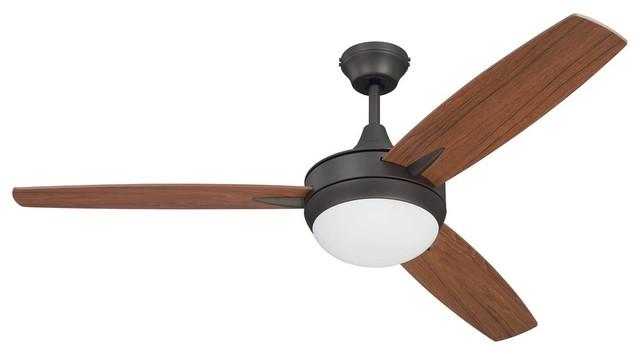 Craftmade 52 Targas Ceiling Fan, Espresso, Wall Control.