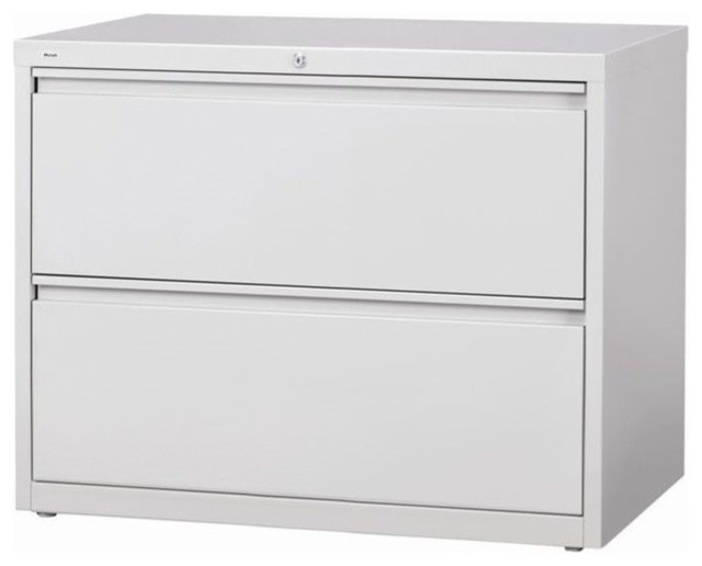 Scranton And Co 2-Drawer Lateral File Cabinet, Gray.