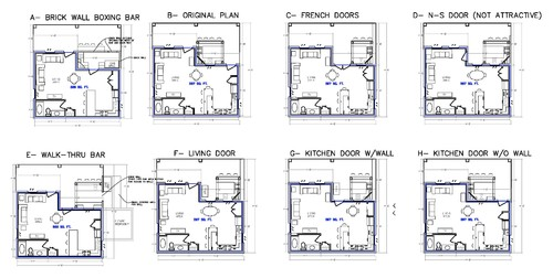 Which outdoor kitchen floor plan for Outdoor kitchen floor plans