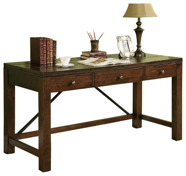 Riverside Furniture Castlewood Writing Desk In Warm