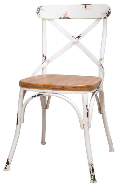 dylan wood dining chair white set of 2 - White Wood Dining Chairs