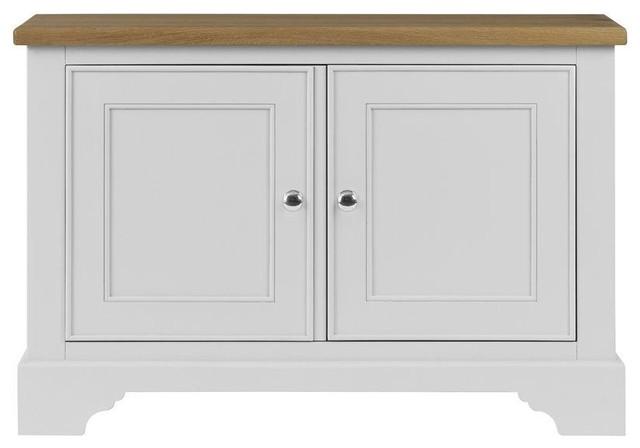 Somerdale Display Cabinet Base Unit, Dove White