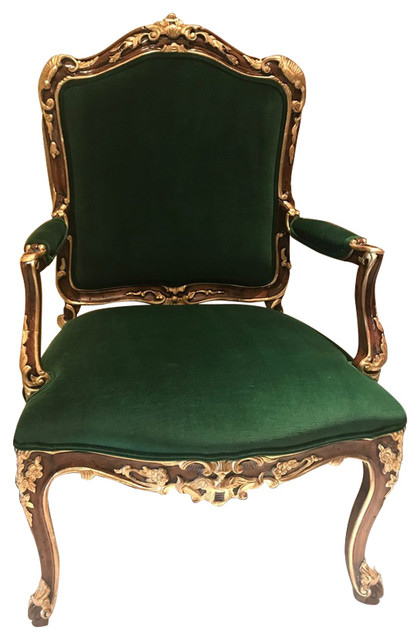 Louis Xv Armchair Victorian Armchairs And Accent Chairs By