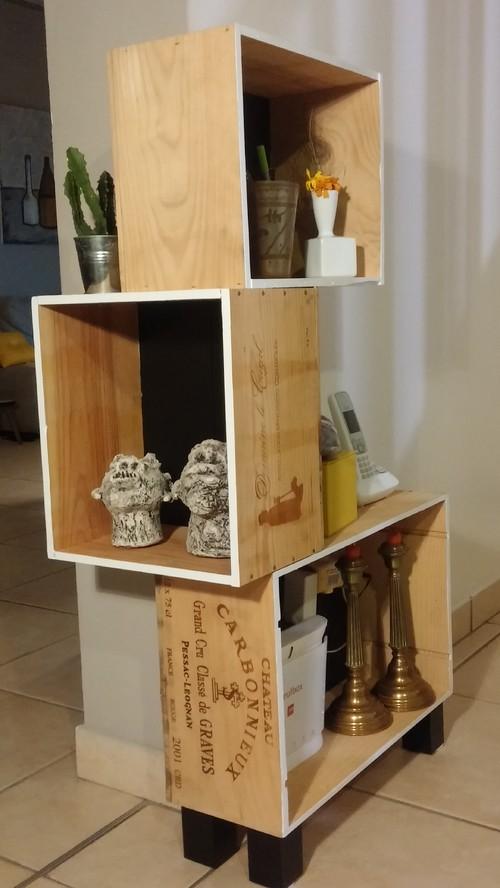 Diy Fabriquer Un Meuble Avec Des Caisses A Vin Mode D Emploi
