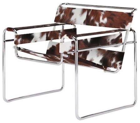 Wassily Cowhide Chair Contemporary Armchairs And Accent Chairs – Modern Cowhide Chair