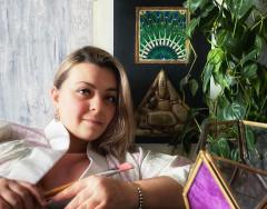 В гостях Нарисованный дом или четыре стихии одного интерьера (18 photos)