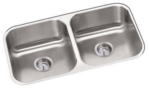 Proflo Pfuc206 31 1 4 Double Basin Undermount 18 Gauge Kitchen Sink