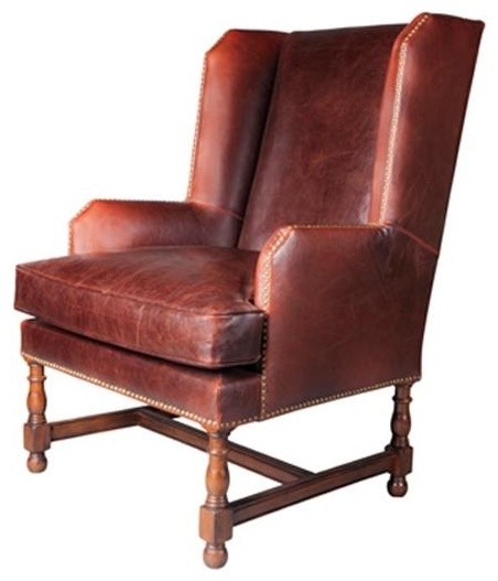 traditional accent chairs living room accent chair churchill tannery leather traditional 23291