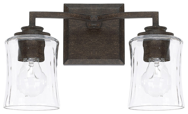 Porter 2 Light Vanity, Renaissance Brown